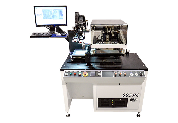 MSP-885PC Semi-Automatic Computer Controlled Screen Printer
